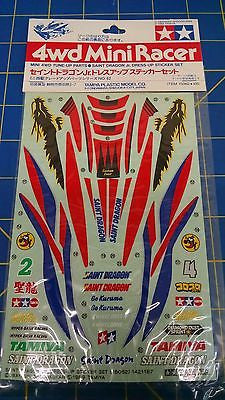Tamiya 15062 Saint Dragon Jr. Dress Up Sticker Set slot car from Mid America