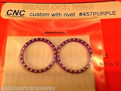 Pro Track Purple BeadLocks 457p 1/24 Drag Slot Car  Mid America Raceway