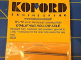 KOFORD # 339 QUALIFYING HOLLOW Hardened 3/32 Axle 1/24 slot  Mid-America Raceway