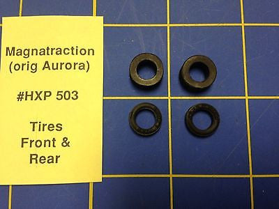 Aurora Magna Traction Tires Front and Rear HO Slot car HXP 503 Mid America