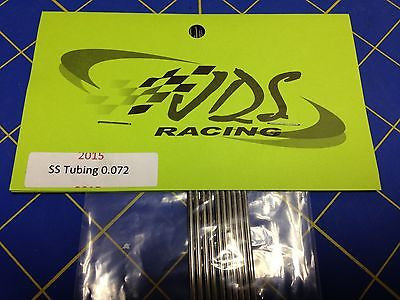 JDS Stainless steel chassis tubing .072 1/24 Drag Slot Car Mid America Raceway
