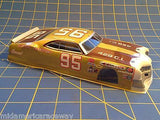 JK Custom Painted Mercury Cyclone Gold 1/24 slot car from Mid America 7352CP2