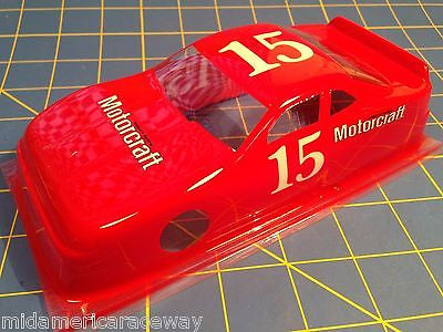 Painted 4 inch Stock Car #15 Motorcraft 1/24 from MidAmerica Raceway