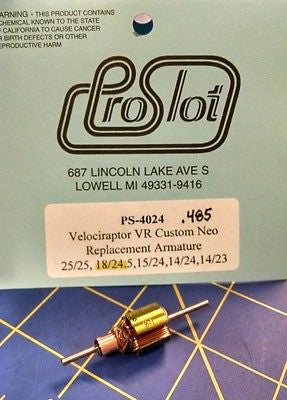 ProSlot 4024 18/24 Velociraptor VR Custom Neo Replacement Arm Slot  Mid America