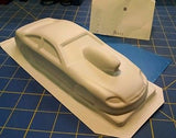 Straightlines SL60 Cobalt Pro Stock Coupe Styrene Drag body from Mid-America