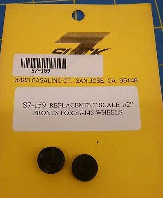 "Slick 7 S7-159 Replacement Scale 1/2"" Front for S7-145 Wheels 1/24 Mid America"