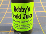 Bobby's Braid Juice the Blue stuff 1/24 slot car Mid America Raceway