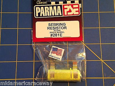 PARMA #281E  25 Ohm Sebring Controller Resistor from Mid America Raceway