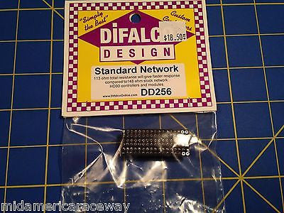 Difalco HD30 113 Ohms Resistor Network - Faster response - DD-256  Mid-America