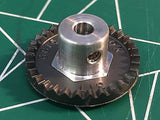 Cox 18031 1/8 axle 48 Pitch 31 Tooth Crown Gear 1/24 slot Mid America Raceway