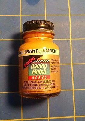 Pactra RC5314 Trans Amber 1 oz Acrylic Racing Finish Polycarbonate Lexan Paint