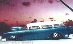 55 Chevy nomad S/Gas Lexan Drag body 5082 1/24 from Mid-America Raceway