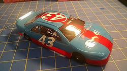 Trinity 4 1/2 Nascar 16D 43 Light Blue Red Stripe RTR 1/24 Mid-America