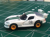 White Viper by Johnny Lighting w/ Tomy Turbo chassis from Mid America Raceway