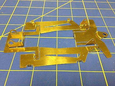 JK X25R Can-Am Brass Retro Chassis Kit 1/24 Slot Car from Mid America raceway