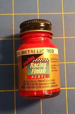 Pactra RC5504 Met Red 1 oz. Acrylic Racing Finish Polycarbonate Lexan Paint