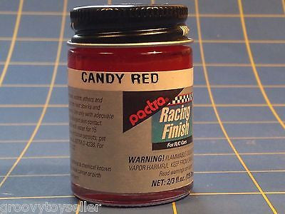 Pactra RC71 Candy Red Lexan Paint 2/3 oz Mid America