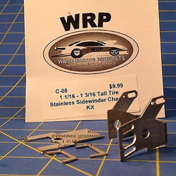 WRP Products Drag Sidewinder Chassis Kit for tall tires C-08 1 1/16 to 1 3/16