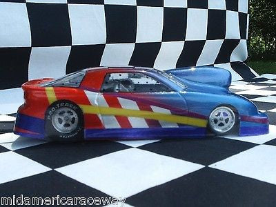 Straightlines GEO Pro/Stock Clear Lexan Drag body SL31 1/24 Mid-America raceway