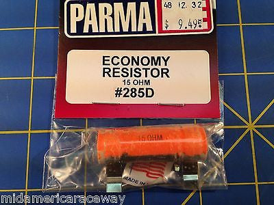 Parma 285D 15 OHM Resistor for Economy Controller from Mid America Raceway