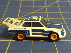 TOMY Aurora AFX BMW 320i #3 with Running Tomy Turbo Chassis