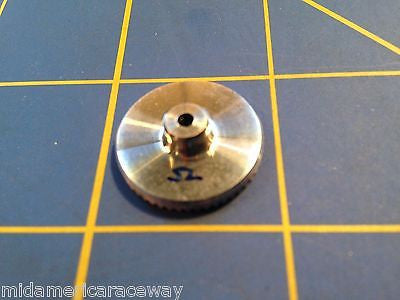 Sonic 3/32 axle 64 Pitch 52 Tooth Aluminum Drag Crown Gear Mid America Raceway