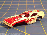 AURORA HO SCREECHER FLAMIN CUDA slot car body afx B5804 From Mid-America Raceway