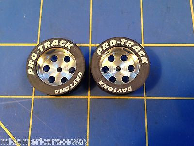 Pro Track 528 Daytona Retro Fronts .950 tall .250 wide 3/32 axle Mid America