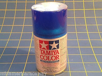 Tamiya PS-38 Translucent Blue  Polycarbonate Spray Paint # 86038 Mid-America