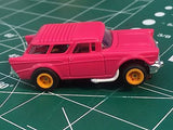 Pink Nomad by Johnny Lighting  Tomy Turbo chassis from MidAmerica Raceway