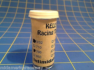 Kelly Treated Ivory 3/32 .790 Slot Car Tires 1/24 from Mid America Raceway