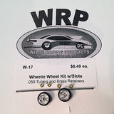 WRP  Wheelie Bar Complete Kit W-17 Slots1/24 Drag Car from Mid-America Raceway