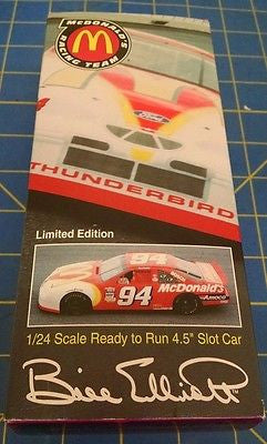 "Parma Bill Elliott McDonalds RTR 4.5"" 96 T-Bird 1/24 from Mid-America"