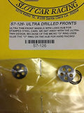 SLICK-7  S7-126 Ultra Drilled Fronts 1/24 slot car Mid America Raceway