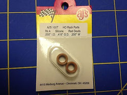 AJ'S 100T Silicone Tan Tires TYCO HP7 Tomy AFX Turbo Aurora Magnatraction