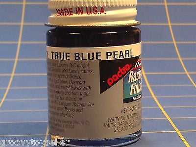 Pactra RC93 True Blue Pearl Lexan Paint 2/3 oz Mid America