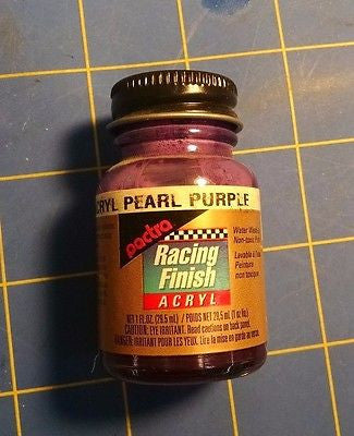 Pactra RC5212 Pearl Purple 1oz Acrylic Racing Finish Polycarbonate Lexan Paint