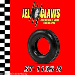 ST1135-R 1/32 Scale Slot Car Tire Fits Early Revell, Marx 2-Piece Wheel, Ferrari