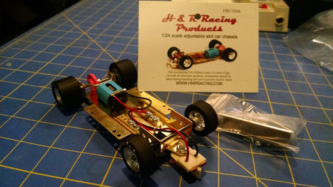 H&R CH06 Hard Body RTR Chassis foam tires 1/24 Slot Car from Mid America Raceway