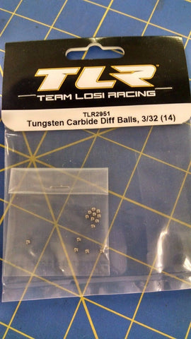 TLR 2951 Tungsten Carbide Diff Balls 3/32 (14) from Mid-America Naperville