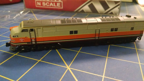 Broadway Limited Imports 3042 EMD E7A, MILW #17B Locomotive Mid America Napervil