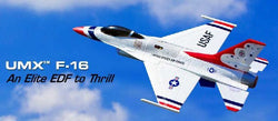 E-Flite EFLU2850 UMX F-16 BNF Basic Electric Jet Airplane Fully Assem Naperville
