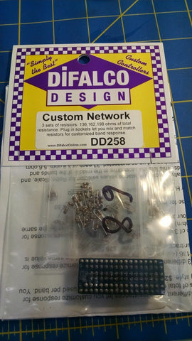 Difalco 3 Custom Resistor Network - Slow response - DD-258 from Mid-America