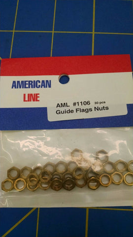 30 American Line AML 1106 Guide Flag Nuts from Mid America Naperville