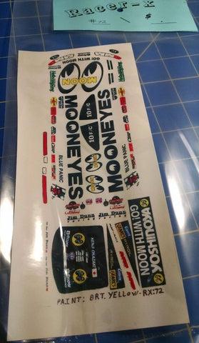Racer-X #72 MOONEYES Decal from Mid-America Naperville #2006