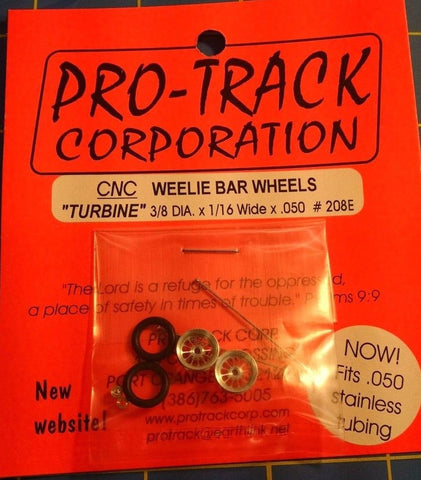Pro-Track #208E Weelie Bar Wheels Turbine from Mid-America Naperville