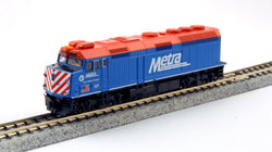 KATO N GAUGE 176-9101 F40PH CHICAGO METRA #137 from Mid-America Naperville