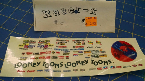 Racer-X #41 Looney Toons Decal from Mid-America Naperville