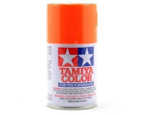 Tamiya PS-24 Fluorescent Orange Polycarbonate Spray Paint Mid-America Naperville