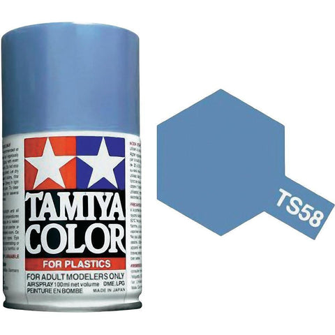 Tamiya TS-58 PEARL LIGHT Spray Paint Can 3 oz 100ml 85058 Mid-America Naperville